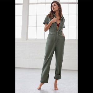 UO Canvas Flight Jumpsuit
